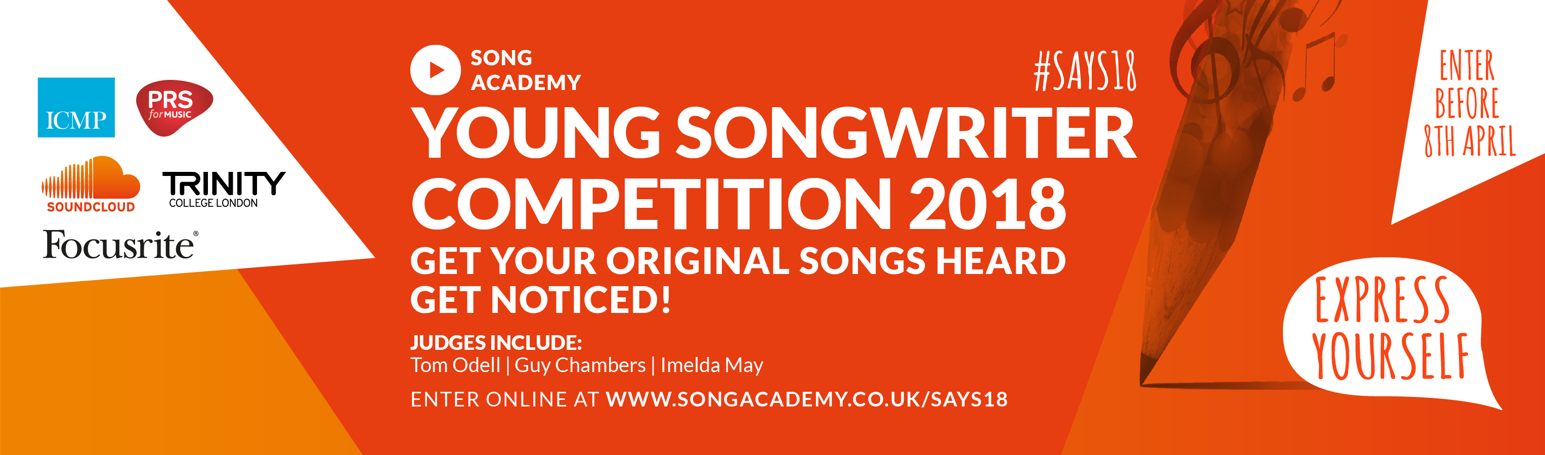 song academy young songwriting competition banner